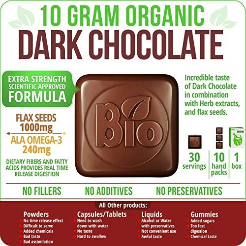 Echinacea 500 mg, (Dark Chocolate)