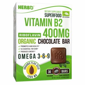 Vitamin B2 Riboflavin 400 mg in Dark Chocolate