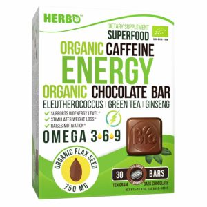 Caffeine Energy Booster in Dark Chocolate