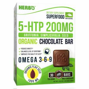5-HTP 200 mg in Organic Milk Chocolate