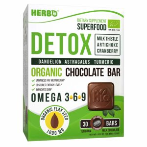 Detox in Organic Milk Chocolate